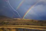 Backroads Stormy Rainbow