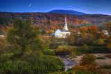 Stowe Autumn Moonlight