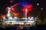 Dodger Stadium Fireworks