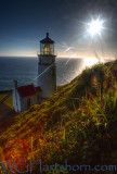 Heceta Head Lighthouse Sunburst