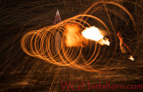 Steel Wool Flame Thrower