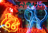 Gaslamp Neon Montage