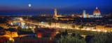 Florence Moonlight Panorama