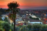 Florence Fiery Sunset