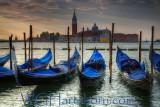 Venezia Gondos Sunrise