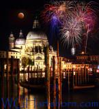 Venezia Grand Canal Fireworks