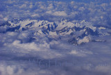 Italian Alps Above The Clouds