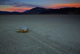 Racetrack Twilight Death Valley
