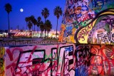 Venice Graffitti Moonrise