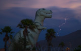 Cabazon T Rex Lightning