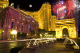 Paris Hotel Fireworks