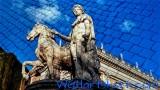 Roman Statue Cobblestone