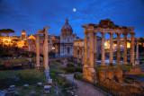 Forum Romanum Moonlight