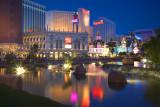 Las Vegas Strip Harrahs Reflections