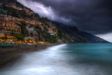 Positano Approaching Storm