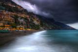 Positano Approaching Storm