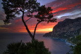 Capri Cove Sunset