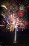 Newport Pier Holiday Fireworks