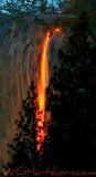 Horsetail Firefalls