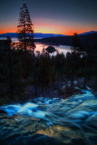 Emerald Bay Eagle Falls Sunrise Lake Tahoe