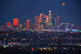 Los Angeles Super MOON