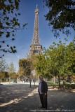 2015 - (Cities of Lights River Cruise) Ken - Tour Eifflel, Paris - France