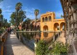 2016 - Jardines del Alcazar, Seville - Spain