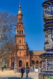 2016 - Plaza de España, Seville - Spain (HDR)