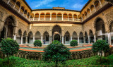 2016 - The Courtyard of the Maidens, Reales Alcázares de Seville - Spain (HDR)