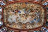 2016 - The Ceiling of a room in Melk Abbey, Melk - Austria