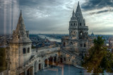 2016 - (Behind the Curtain)Fisherman's Bastion (Halaszbastya), Budapest - Hungary