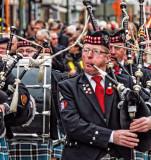 Joueurs de cornemuse écossaise