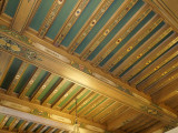 Beamed Ceiling of the Medical Library, Plummer Building
