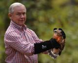 Senator Sessions Visit and Raptor Release