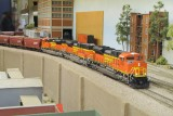 Pulling up to 9th St. on the California Southern layout.