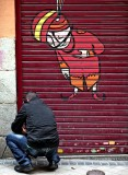 Madrid graffiti