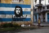 Che Guevara, icon of the Cuban propaganda