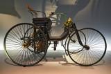 Daimler Motor-Quadricycle Stahlradwagen (Daimler Wire-Wheel Car)
