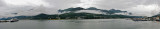 Juneau panorama, across the Gastineau Channel