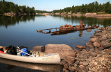 Alligator Boat and French River Lodge Canoe.jpg