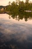 30.  On Paradox Bay at twilight, at Lake Placid.