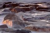 BEACH SCENES - ROCKS, JETTIES AND SEASCAPES