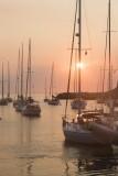 33.  Dawn at Rockport Harbor.