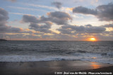 Sunset at Neeltje Jans