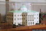 Model of the North Carolina State Capital Building