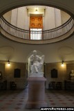 Inside the Looking up at the North Carolina State Capital rotunda
