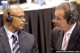CBS Sports announcers Jim Nantz & Clark Kellogg