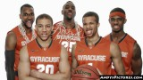 Syracuse Orange starting five