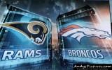 St. Louis Rams at Denver Broncos