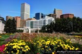 Downtown Denver from Civic Center Park